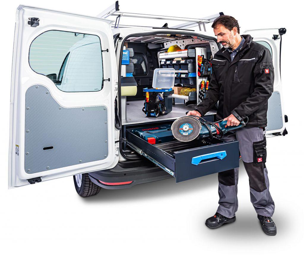 VW Caddy Maxi, Jumbo-Unit, SR5, Sortimo